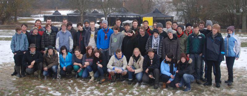 Winterlager 2012 Gruppenfoto