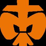 DPSG Lilie Orange